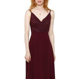 NWT Heartloom Haley Purple Lace Gown Medium Formal